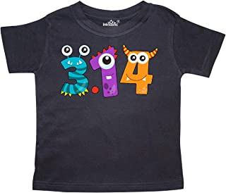 Monsters Like Pi- Pi Day Numbers Toddler T-Shirt