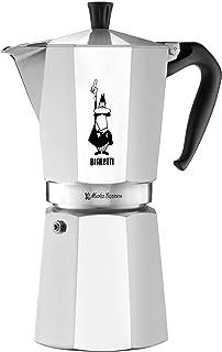 Bialetti Express Moka Pot, 12-Cup, Aluminum Silver