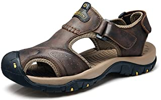 b20b6318065803 Amazon.fr : Cuir - Sandales / Chaussures homme : Chaussures et Sacs