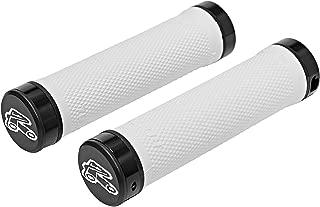Renthal Grip Tech Lock On Bike Handlebar Grips - Light Gray - Super Soft Compound