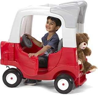 Simplay3 My Buddy and Me SUV - Grow with Me, Children's Ride-in to Ride-on w/ Adjustable Floorboard (Red)