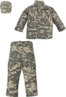 Trooper 3 Pc Kid's Uniform Set U.S. Army ACU Digital Camo Small 6-8