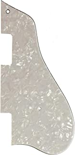 Custom For Epiphone Casino Jazz Archtop Electric Guitar Pickguard (4 Ply White Pearl)