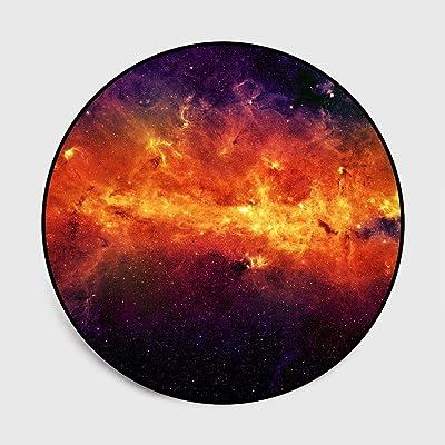 Amazon.com: Alfombra redonda para Galaxy Series, noche ...