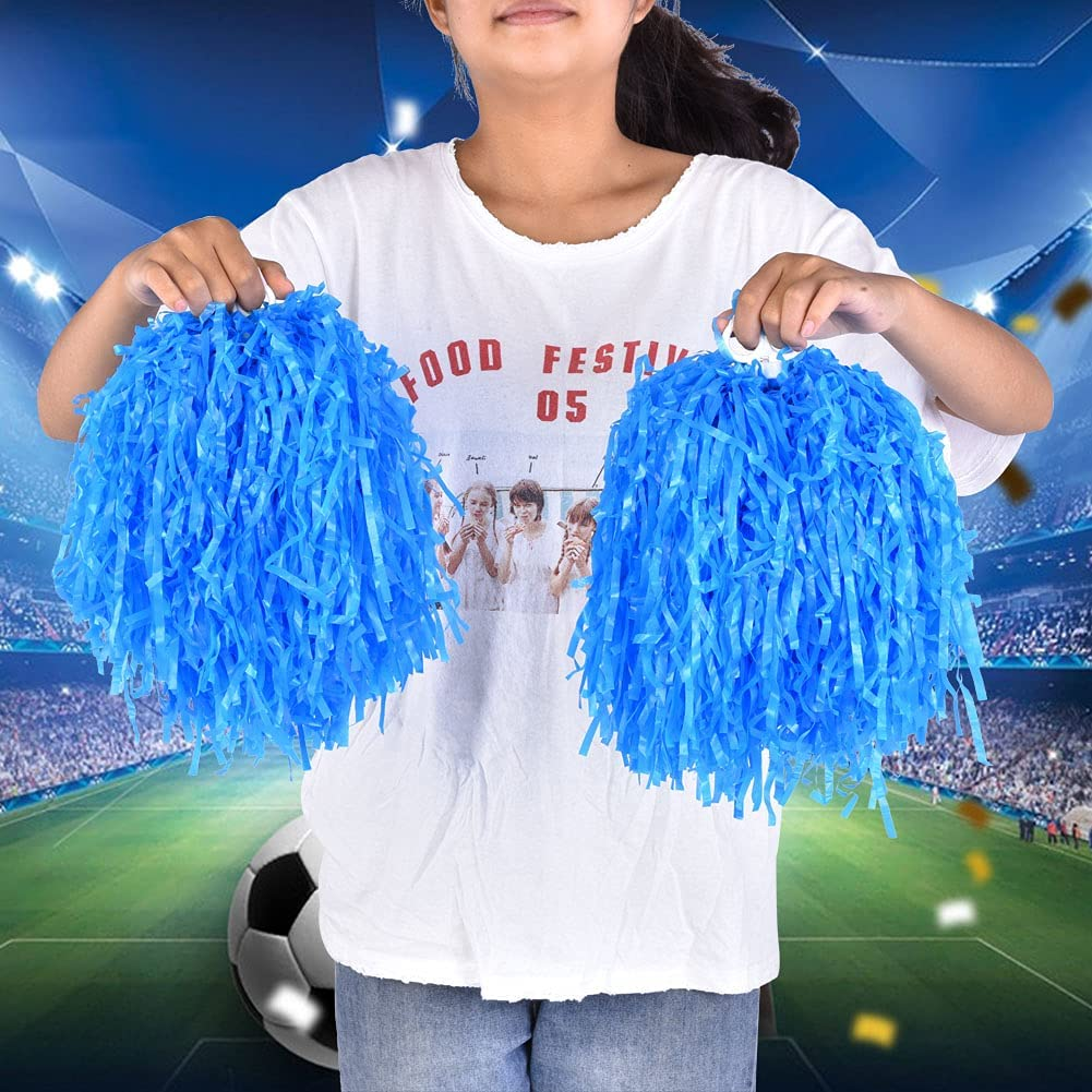 Gedourain Soft Stripes Pom Poms Handheld New Max 85% OFF popularity for Dance Part