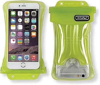 【DiCAPac】WP-C2/グリーン/スマホ 全機種対応 100%完全防水/4.7~5.5インチ/5.7インチ以下(アイフォン 6~iPhone7 Plus/ギャラクシーS7/S7edge/GALAXY Noteなど)JIS IPX8規格獲得・正規品/携帯 防水パック/iphone、galaxy、XPERIA、AQUOS【DAIYO】 [並行輸入品]