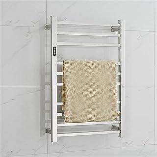 Heated Towel Rail Rails Towel Warmer,10-Bar Heated Towel Rack, Wall Mounted Towel Warmer in Efficient 88W Electric Heater ...