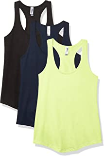 Marky G Apparel Women's French Terry Racerback Tank Top (Pack of 3)