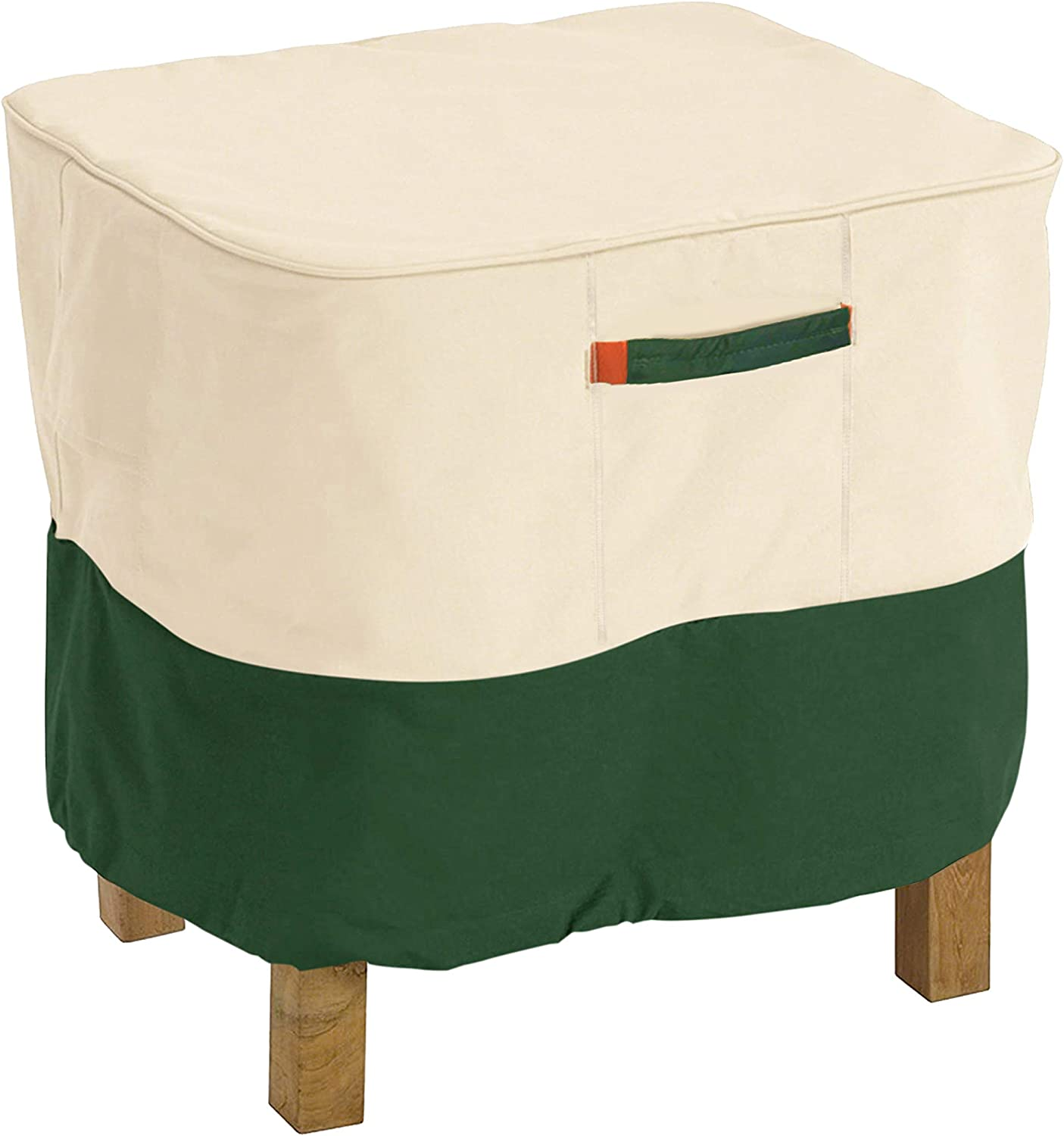 DikaSun Patio Ottoman Over item handling Cover Heavy Duty Price reduction Covers Du Furniture
