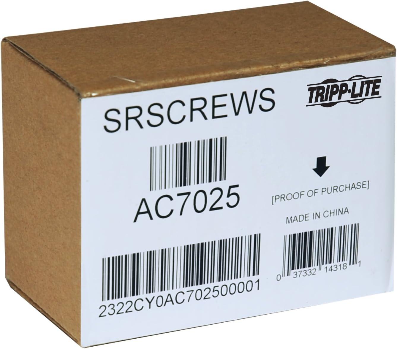 Tripp Lite SRSCREWS Rack Enclosure Server Cabinet Threaded Hole Hardware Kit