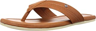 Louis Philippe Men's Leather Outdoor Sandals
