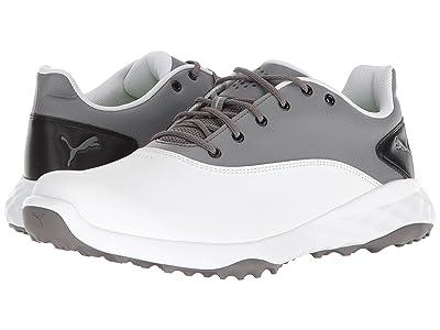 PUMA Golf Grip Fusion (Puma White/Quiet Shade/Puma Black) Men
