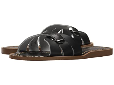 Salt Water Sandal by Hoy Shoes Classic Slide (Little Kid) (Black) Girls Shoes