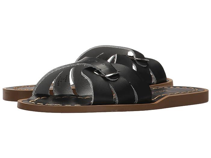 Salt Water Sandal by Hoy Shoes  Classic Slide (Little Kid) (Black) Girls Shoes