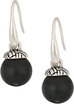 The Sak Color Bead Drop Earrings
