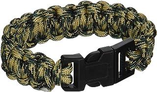 SecureLine NPCB550CL 550 Nylon Paracord Survival Bracelet,  Large,  Camoflage