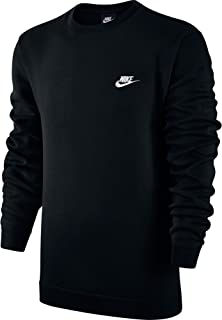 dc2bd34b3a Nike M NSW Club CRW BB Long Sleeved t-Shirt, Hombre