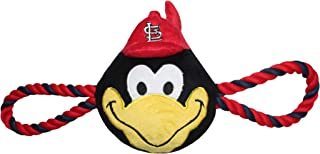 Pets First Licensed MLB PET Toy for Dogs & Cats. Biggest Selection of Sports Toys, St. Louis Cardinals Rope Toy