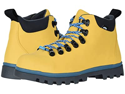 Native Shoes Fitzsimmons Treklite (Alpine Yellow/Storm Blue/Onyx Black) Boots