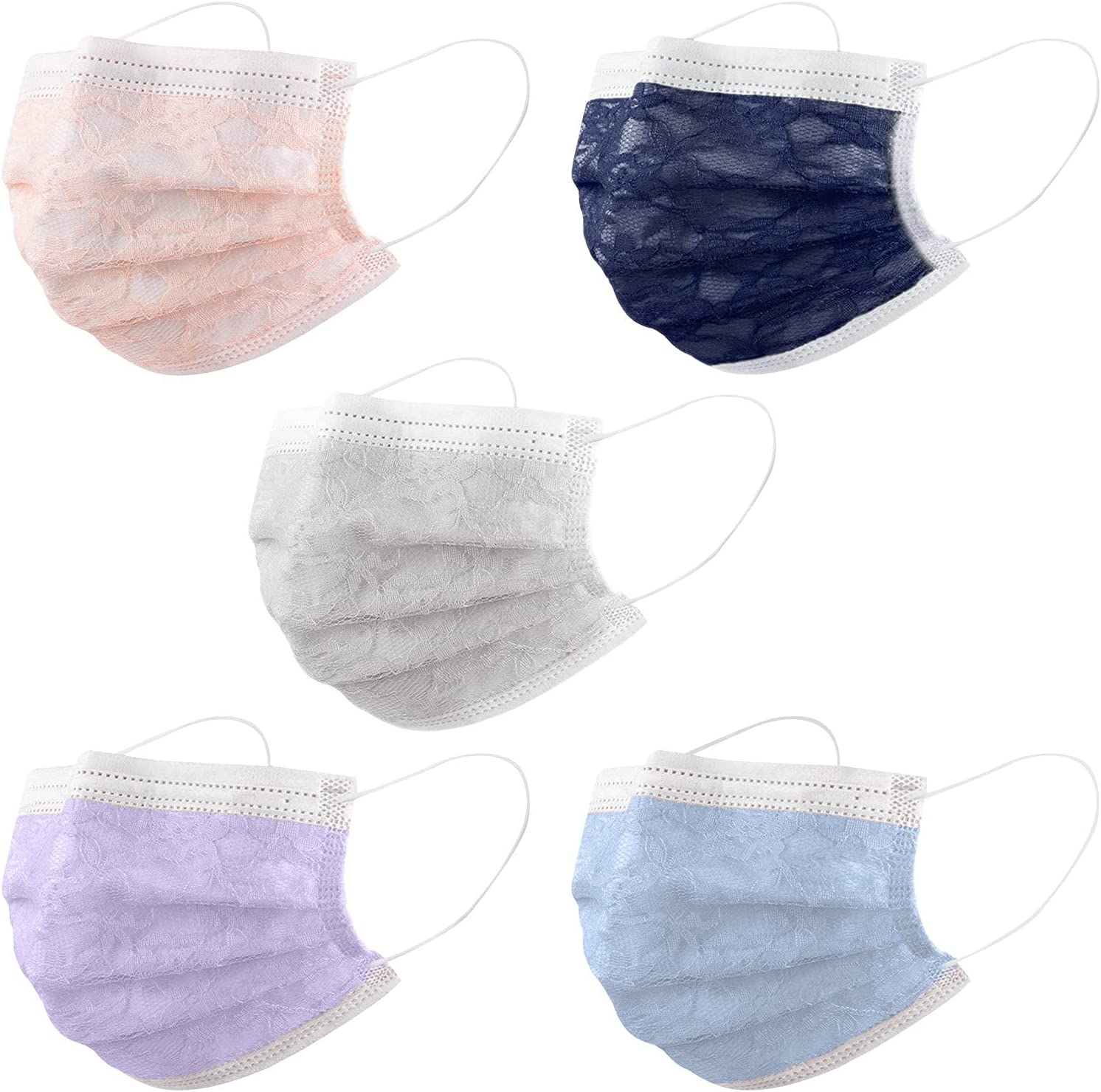 50PC Adult_Disposable Face Mask for Teen 3ply Girls Wholesale Women online shopping P