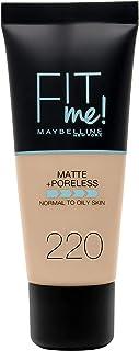Maybelline New York New York New York Fit Me Matte & Poreless Face Foundation - 1.01 oz., 220 Natural Beige