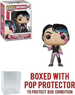 Funko Sparkle Specialist: Fortnite x POP! Games Vinyl Figure & 1 POP! Compatible PET Plastic Graphical Protector Bundle [#461 / 36023 - B]