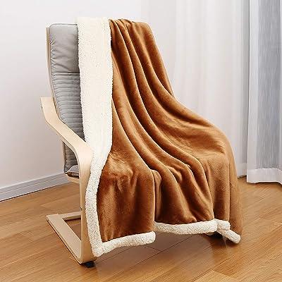 JEMA Premium Flannel Fleece Throw Blanket for S...