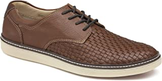 Men's McGuffey Woven Lace Up Shoe | Cushioned Leather...