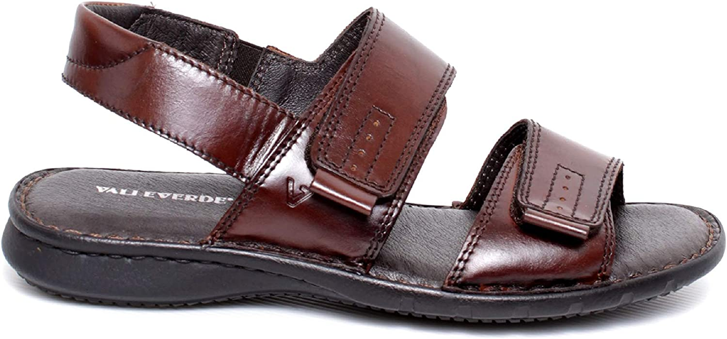 VALLEgreen Men's Fashion Sandals Brown Brown