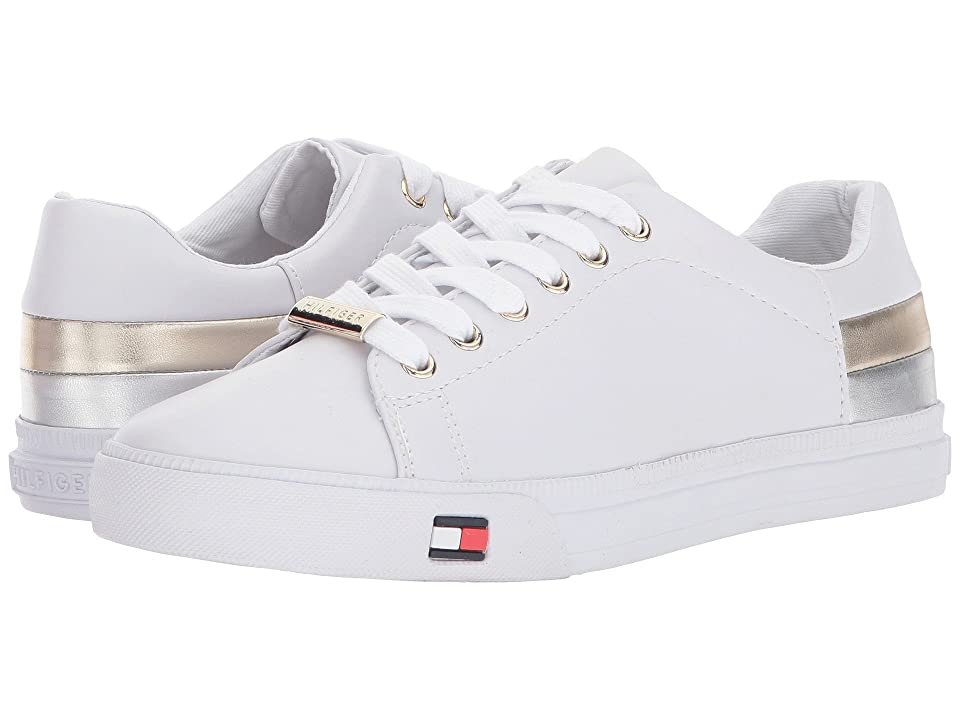 Tommy Hilfiger Laddi (White/Silver/Gold) Women