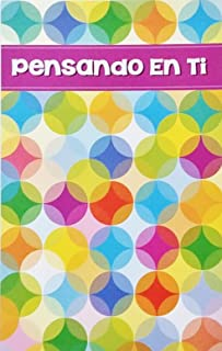 Pensando En Ti - Thinking Of You Greeting Card in Spanish (Long Distance - For