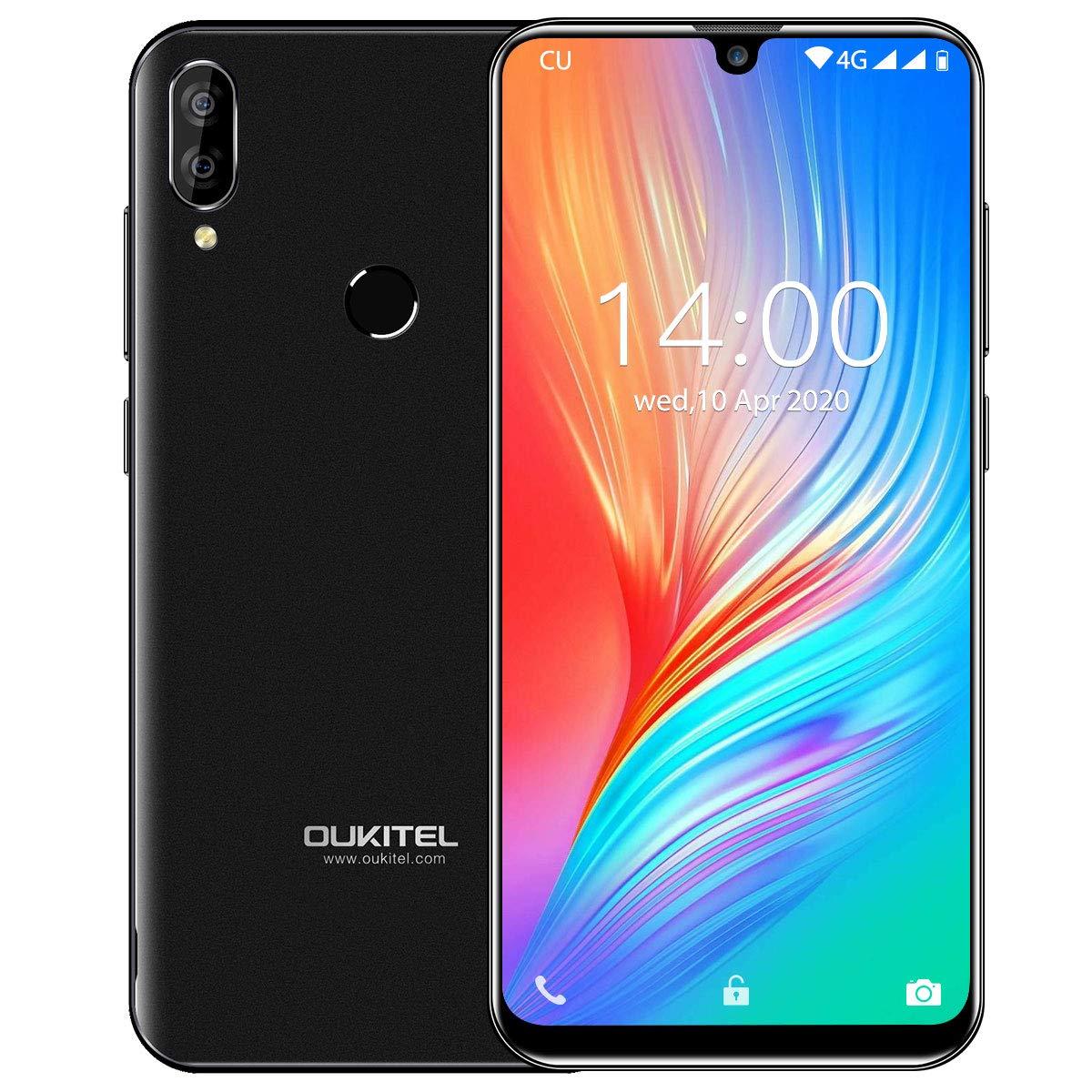 Smartphone Libre, OUKITEL C16 Pro Android 9.0 4G Dual SIM Telefonos Moviles, Pantalla de Gota de Agua de 5,71 Pulgadas Teléfono Movil,3300mAh Batería 32GB ROM Dual Cámaras Smartphone, Negro: Amazon.es: Electrónica