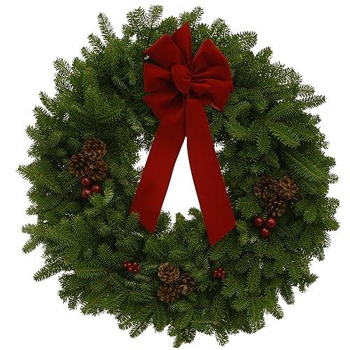 Christmas Reef.Fresh Wreaths Christmas Amazon Com
