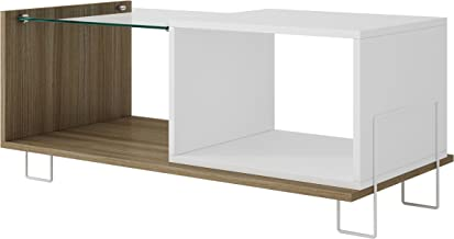 BRV BM71-47 Wooden Side Table, Size: 38.9 cm*90 cm*38 cm, Color: White