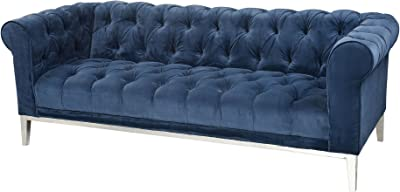 Sterling Home Sophie Sofa seating, Blue