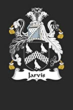 Jarvis: Jarvis Coat of Arms and Family Crest Notebook Journal (6 x 9 - 100 pages)