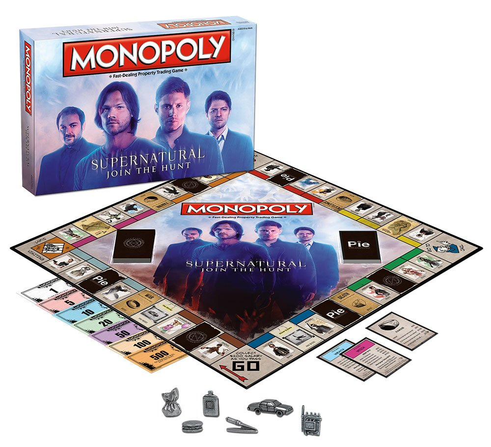 USAopoly Monopoly: Supernatural Collectors Edition Board Game: Amazon.es: Juguetes y juegos