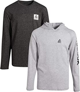 Boys Performance T-Shirt and Long Sleeve Pullover Hoodie 2-Piece Set