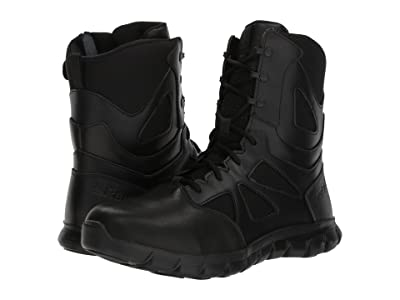 Reebok Work Sublite Cushion Tactical 8 Boot (Black) Men