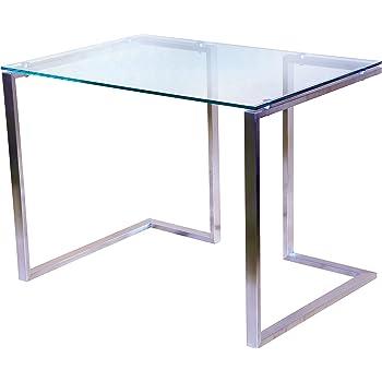 Glasplatte Klarglas für Schreibtisch 775 x 2050 x 8mm, 8mm