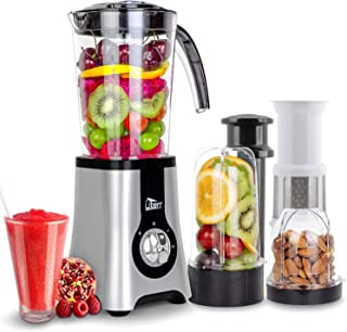 Uten Blender Smoothie 1.25L, Uten Mini Blender, Mixeur Blender pour Milk-Shake, Jus de Fruits et Légumes, Blender Portable...