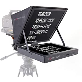 Fortinge PROM15-D-HB 15-Inch Dual Meeting Prompter Set High Brightness