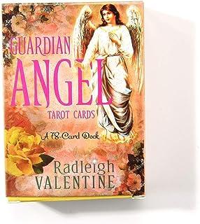 Guardian Angel 完全英語版のタロットデッキとEGuideブックEinstructionカードゲーム運命告知ゲームセット運命予測カードゲーム