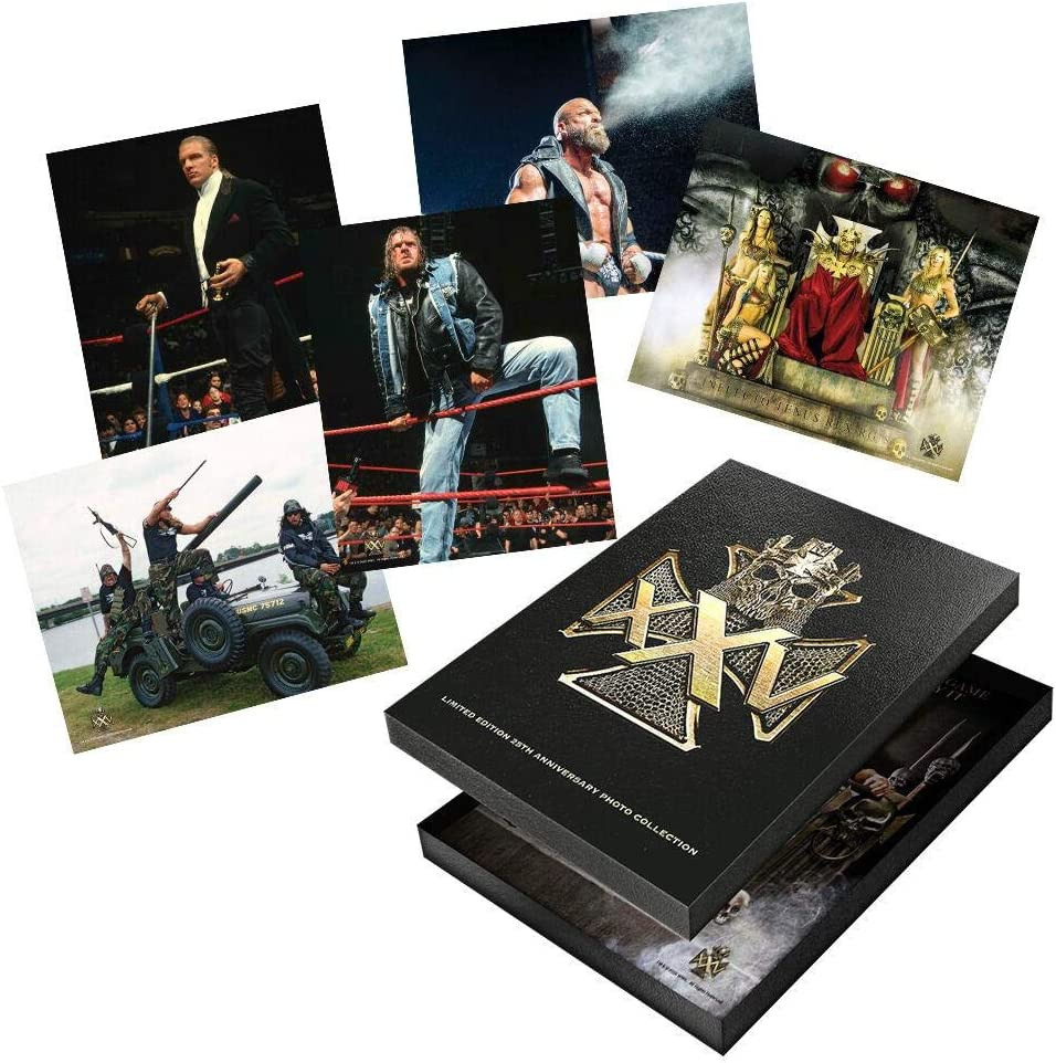 Super sale period limited WWE Triple H 25 Years Edition Photo Limited Set Collector's Oklahoma City Mall