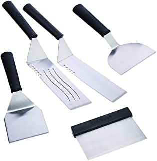 Cuisinart CGS-509 Stainless Steel 5-Piece Griddle Spatula Set, 5