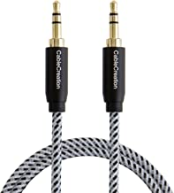 3.5mm Audio Cable, CableCreation 3.5mm Male to Male Stereo Aux Cable for Car, 3FT Aux Cord Compatible with Sony/Beats Headphones, Smartphones, Speaker, 2018 Mac Mini, Home/Car Stereos & More, 0.9M