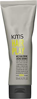 KMS HAIRPLAY Messing Creme 2nd Day Texture & Grip, Grittiness, Root Lift, Pliable Medium Hold, 4.2oz
