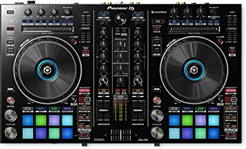 Pioneer DJ DDJ-RR Controlador Portatíl 2 Canales Rekordbox, Color Negro