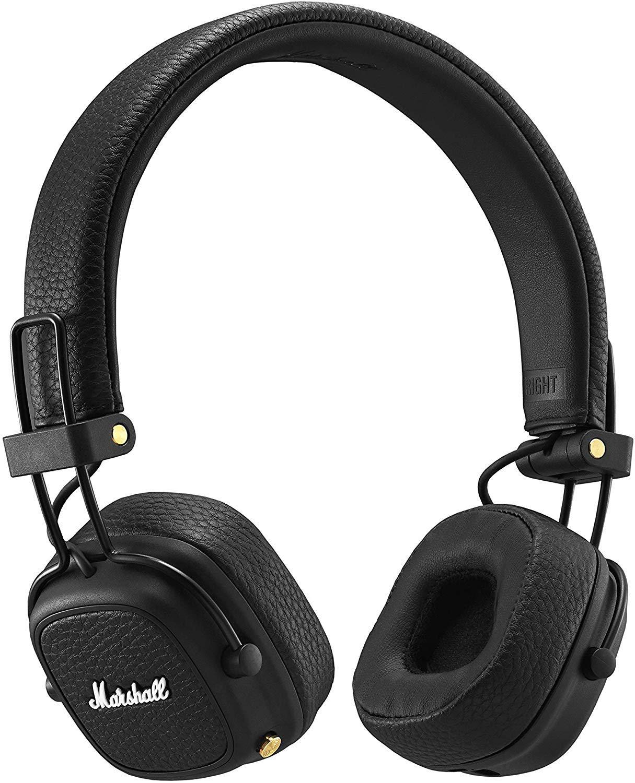 Amazon Com Marshall Major Iii Bluetooth Wireless On Ear Headphones Black New Electronics