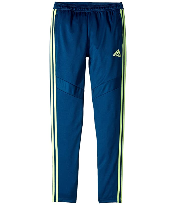 adidas Kids  Tiro 19 Pants (Little Kids/Big Kids) (Legend Marine/Hi-Res Yellow) Kids Casual Pants